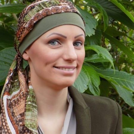 Bandana met sjaal